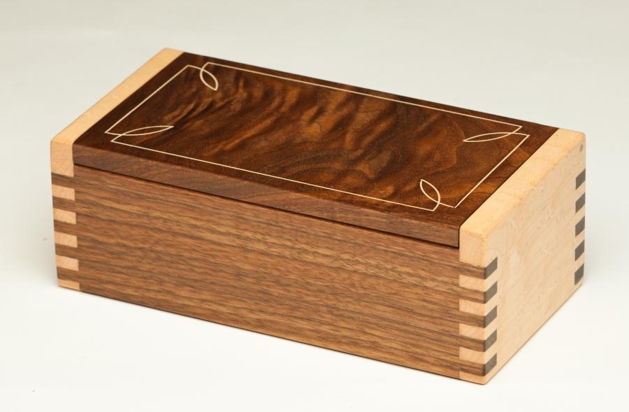 Holly Inlay Jewelry Box