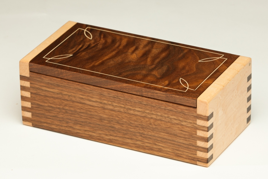 Holly Inlay Jewelry Box