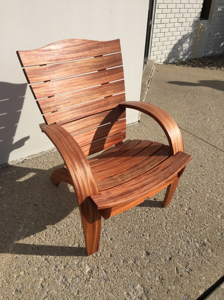 Mahogany Garden Chair