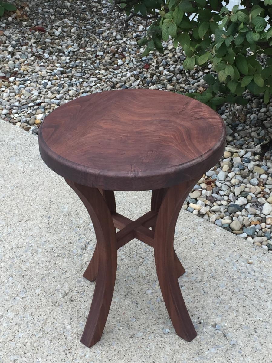 Small Walnut Coffee Table