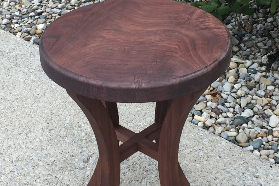 Small Walnut Coffee Table